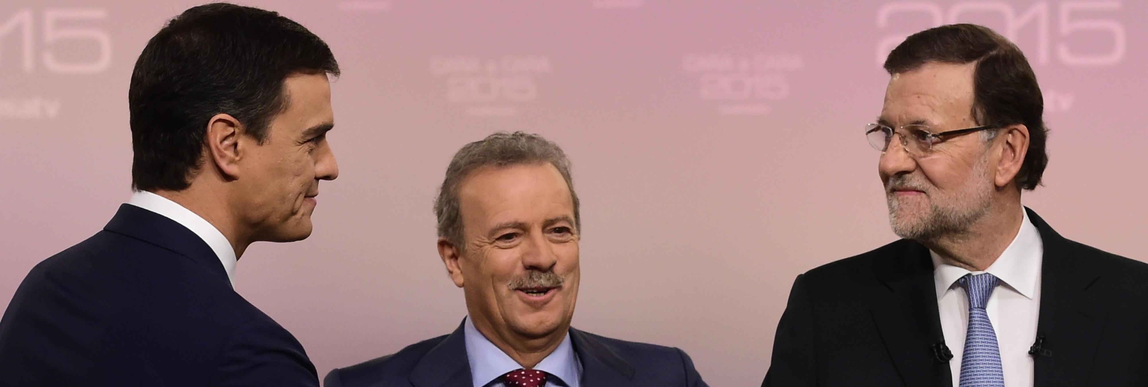 El troleo épico de Izquierda Unida al Cara a Cara entre Rajoy y Sánchez