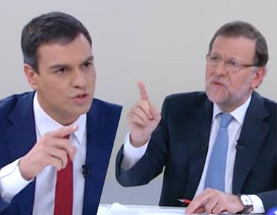 20 frases que lapidaron al bipartidismo en el 'cara a cara' Rajoy-Sánchez