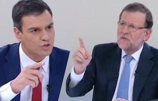 20 frases que lapidaron al bipartidismo en el \'cara a cara\' Rajoy-Sánchez