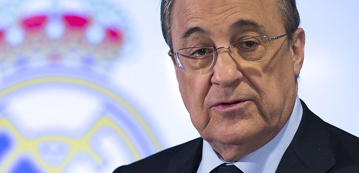 Florentino Pérez, presidente del Real Madrid