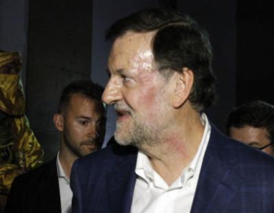 Mariano Rajoy recibe un puñetazo en Pontevedra, el vídeo del golpe y ración de memes