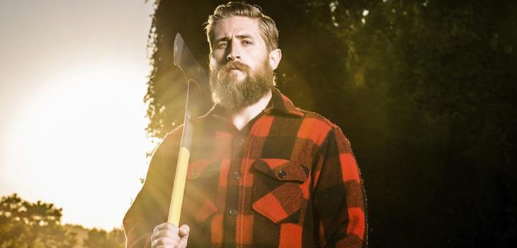 Atraídos por el mito del leñador con barba y camisa de cuadros