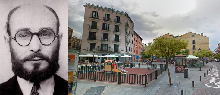 Joan Pujol 'Garbo' y la plaza Juan Pujol