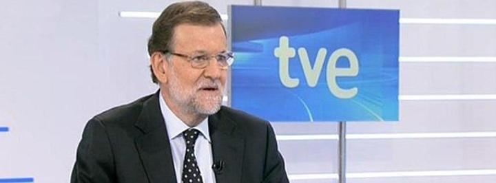 Mariano Rajoy en TVEc