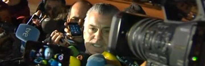 Luis Bárcenas a la salida de la cárcel