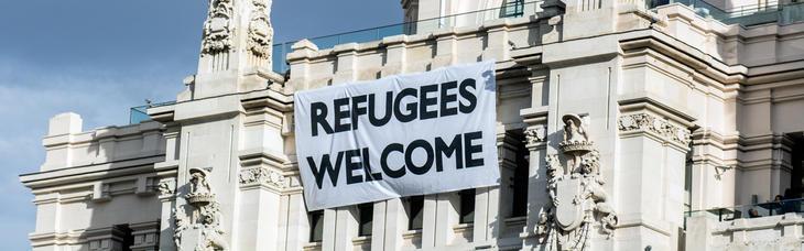 'Bienvenidos, refugiados', en octubre