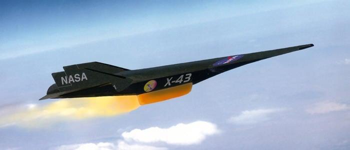 X-43A, avión supersónico de la NASA