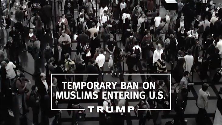 Prohibir la entrada de musulmanes en EEUU