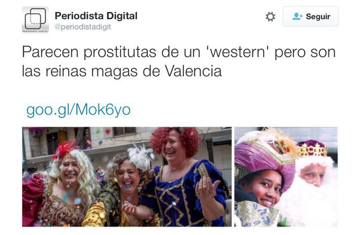 Periodista digital califica a las magas de 'prostitutas de western'