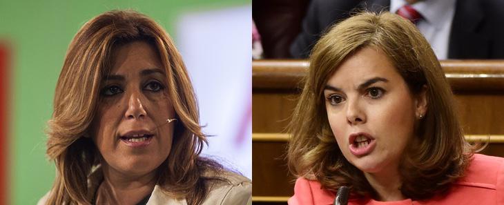 ¿Toman el control Susana Díaz y Soraya Sáenz de Santamaría?
