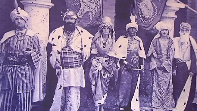 Reina Maga en 1912 (Granada)