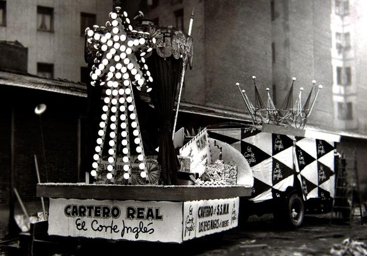 A los Reyes Magos les patrocina El Corte Inglés