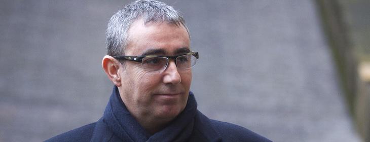 Diego Torres acude a declarar al juzgado de Palma en 2012