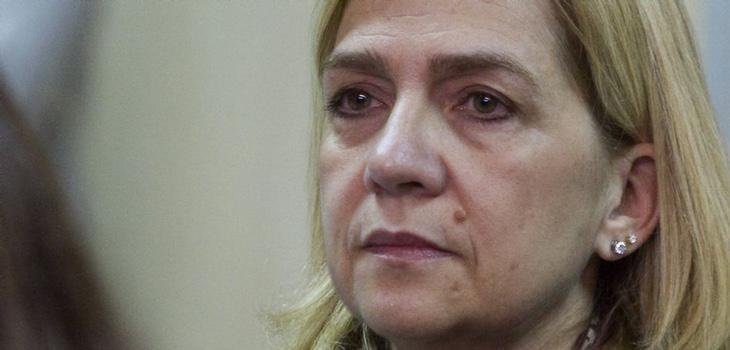 La Infanta Cristina en el juicio (Cati Cladera, EFE)