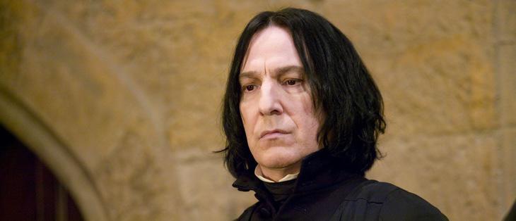Alan Rickman interpretaba a Snape en la saga 'Harry Potter'