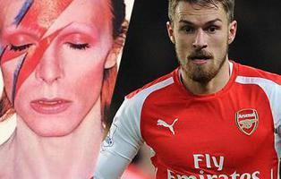 ¿Es David Bowie una nueva víctima de la maldición del futbolista Aaron Ramsey?