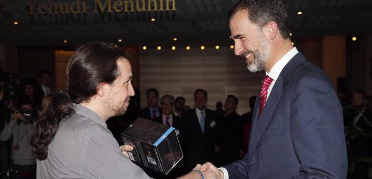 Felipe VI y Pablo Iglesias podrían volver a reunirse muy pronto