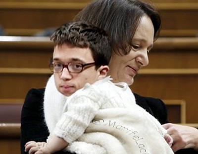 El bebé de Podemos que revolucionó el Congreso de los Diputados