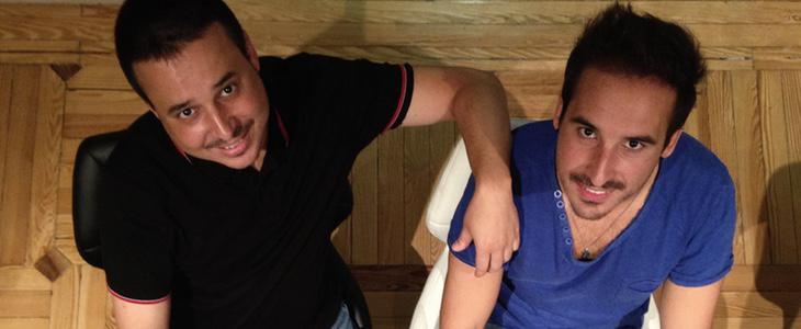 Sergio y Raúl Ituero, fundadores de Damenáme