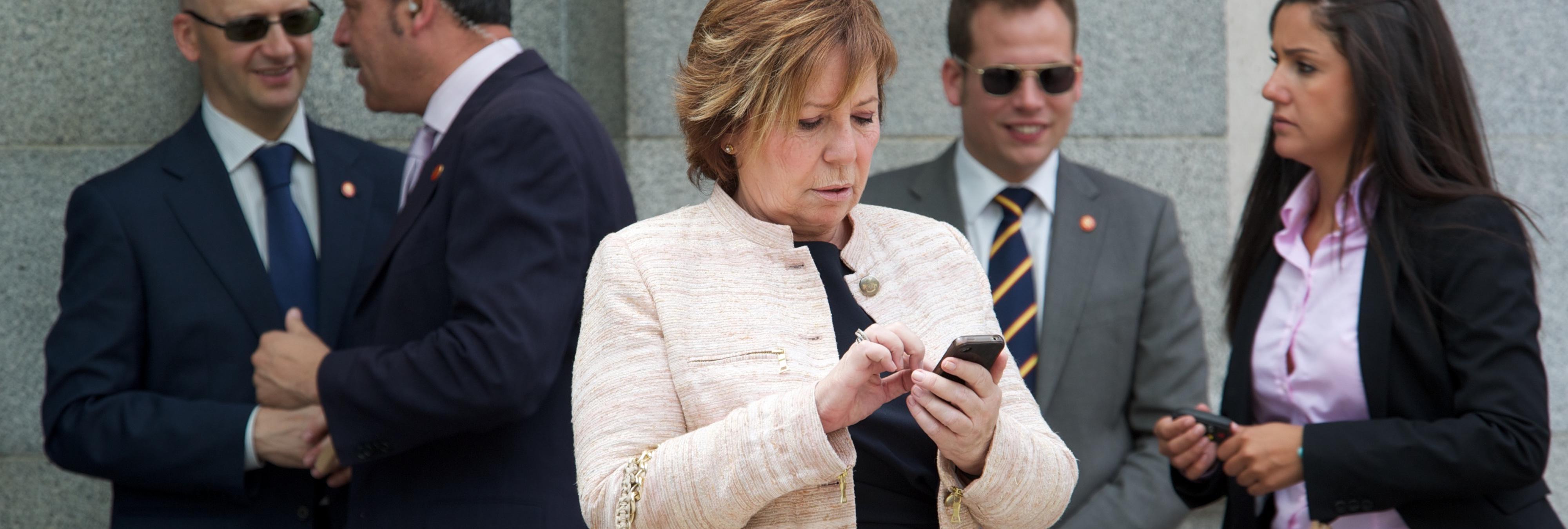 """Celia Villalobos, sobre Podemos: """"Me da igual que lleven rastas, pero que no me peguen los piojos"""""""
