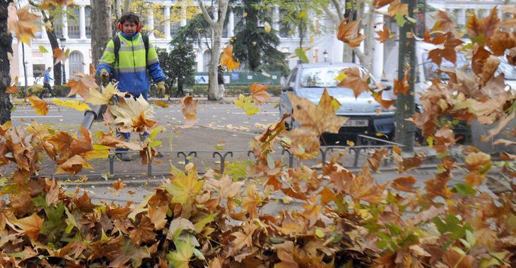 Inversiones y multas para tratar de paliar la suciedad de Madrid