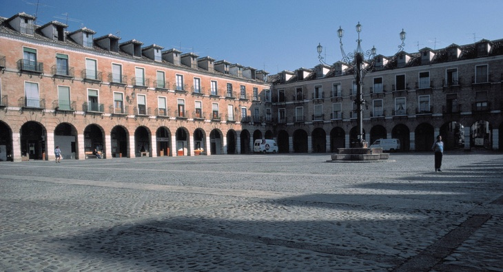 La Plaza Mayor de Ocaña