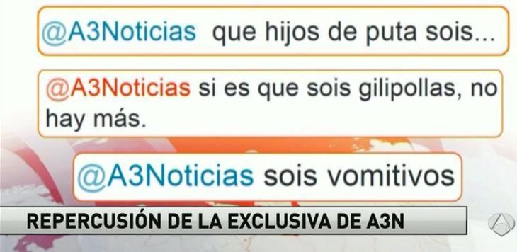 Antena 3 responde al #nosvanadarperobien