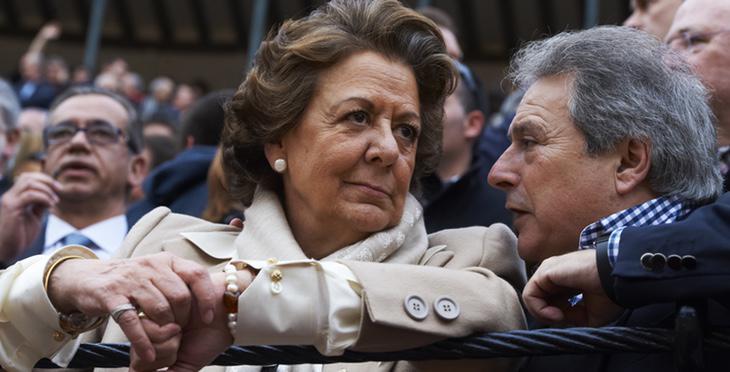 Rita Barberá y Alfonso Rus