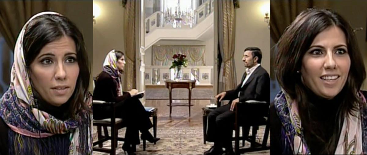 Ana Pastor entrevista a Ahmadineyad