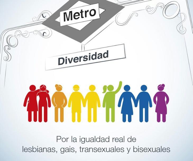 Campaña de Metro por la diversidad de abril de 2015