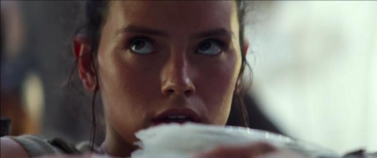La mirada dura de Daisy Ridley