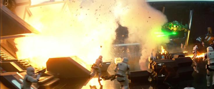 Una de las primeras escenas de acción que podemos ver