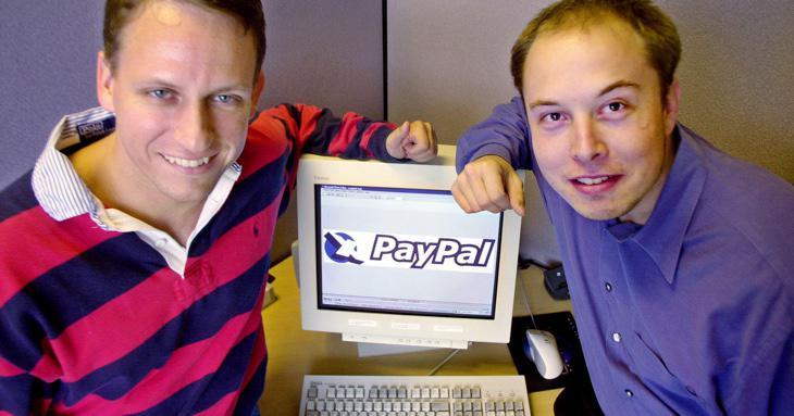 PayPal y Elon Musk, de jóvenes