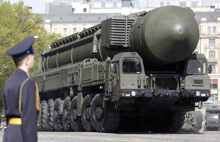 Misil balístico intercontinental ruso