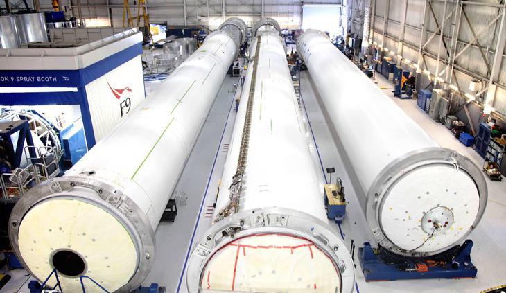 La fábrica de cohetes SpaceX