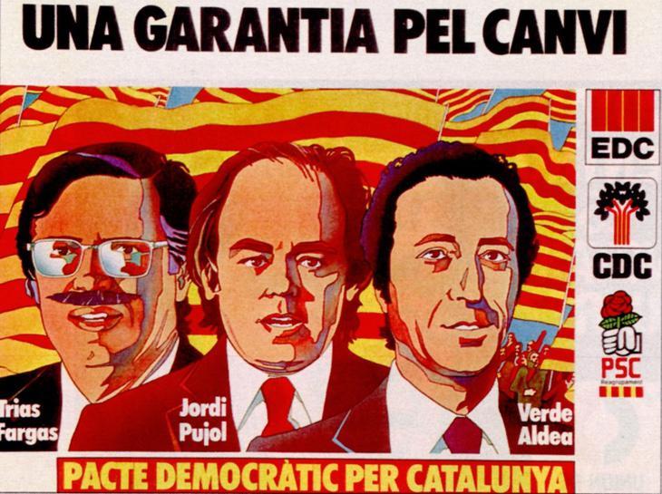 1977: primer tripartito de Cataluña