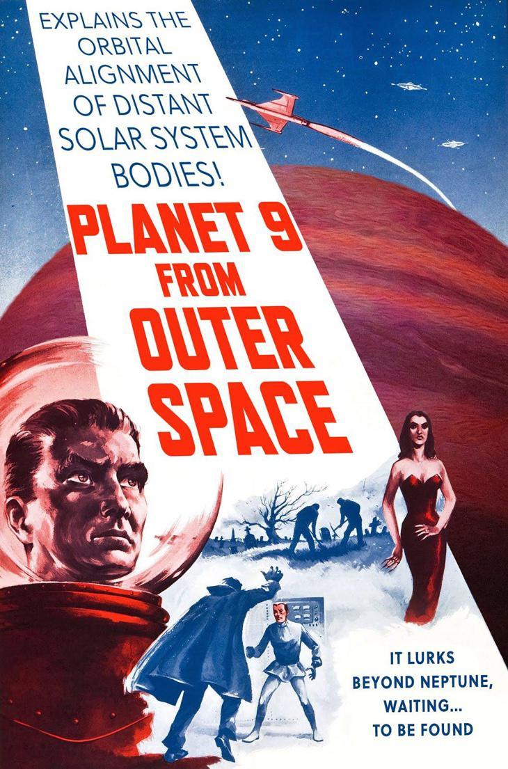 Planeta nuevo del espacio exterior