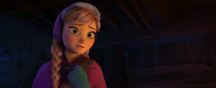 Anna en Frozen: El reino de Hielo