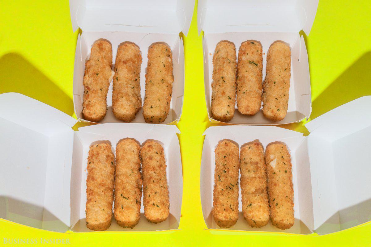 La imagen corporativa de los palitos de mozzarella