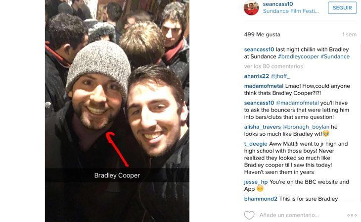 ¡Con Bradley Cooper en Sundance!