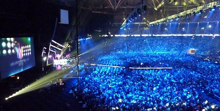 Final del Melodifestivalen en el Friends Arena (Foto: Prinz Blog)