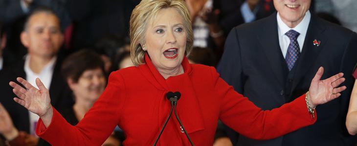 Hillary Clinton, posible primera presidenta de EEUU