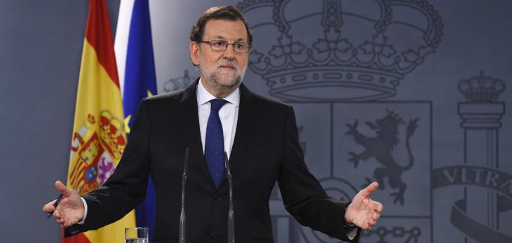 Rajoy: 'el Rey no me ha ofrecido formar Gobierno'