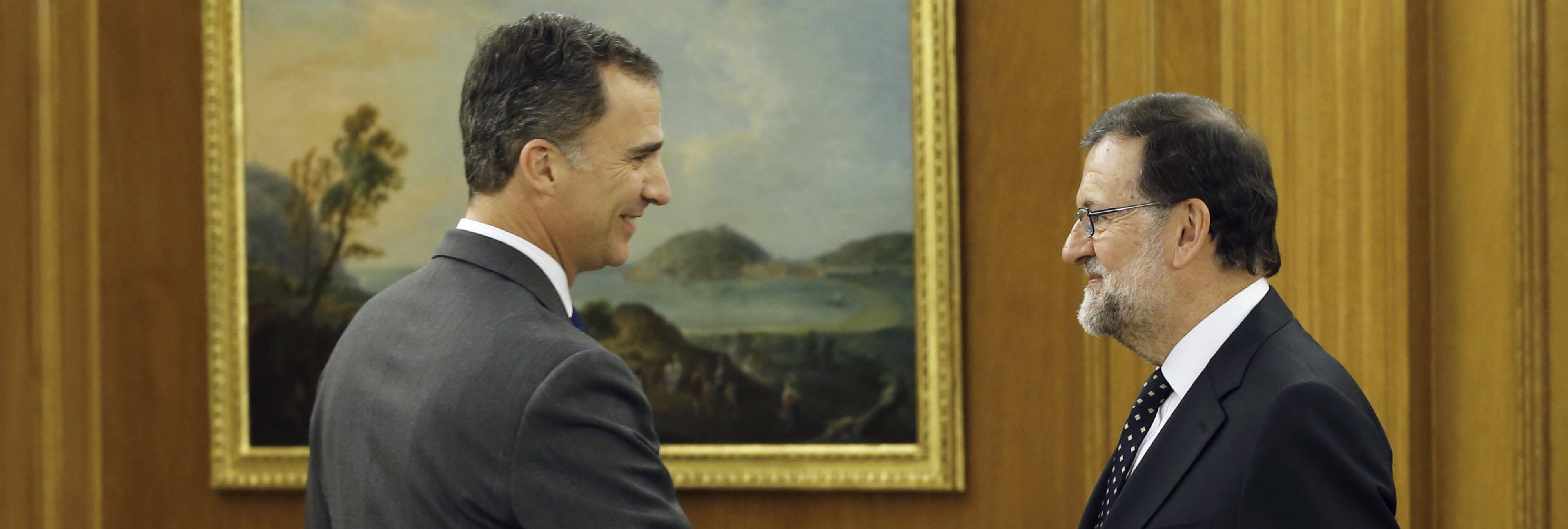Culmina la segunda ronda de consultas con Rajoy: 'el Rey no me ha ofrecido formar Gobierno'
