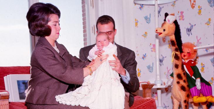 Juan Carlos cogiendo a Elena