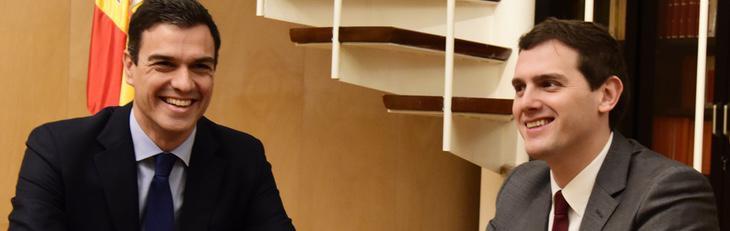 Albert Rivera insiste en negociar con el PP y descartar a Podemos