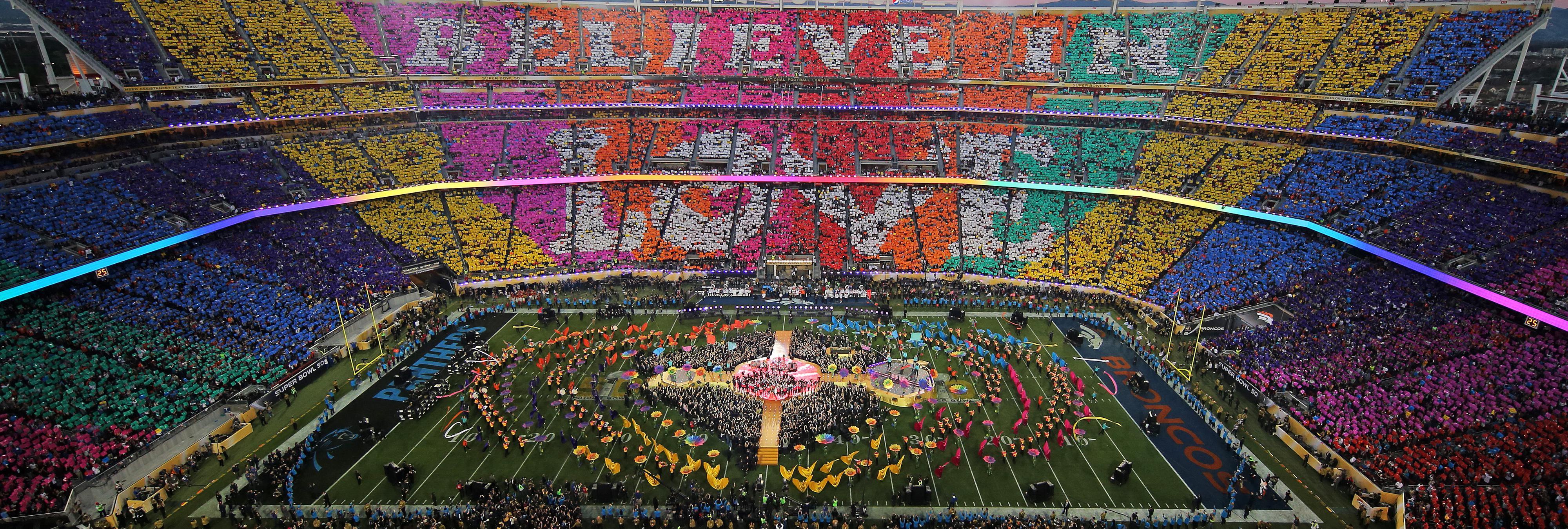 7 cosas que no sabías de la Super Bowl 2016 y el halftime show