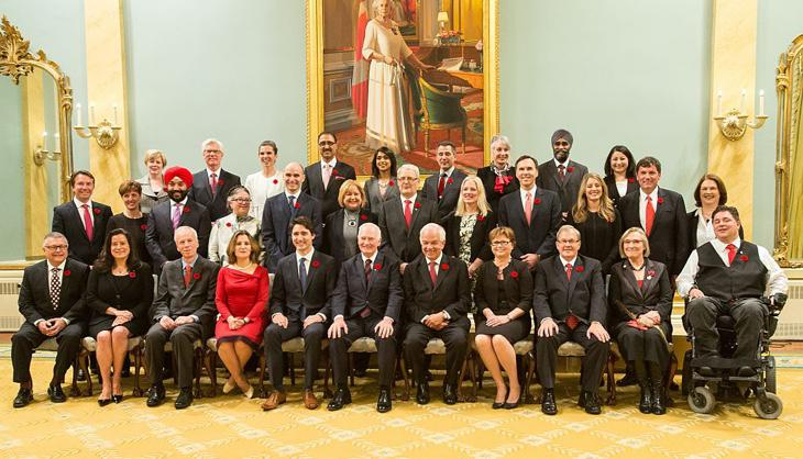 El gobierno de la diversidad de Justin Trudeau