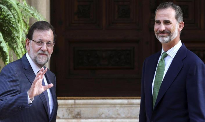 Felipe VI no ha actuado de la manera en que esperaba Rajoy