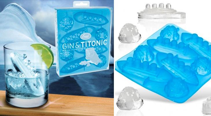 Gin 'Titonic', molde para cubitos de hielo